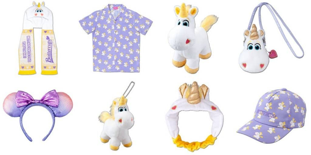 Toy Story's Buttercup the Unicorn Merchandise at Tokyo Disney Resort