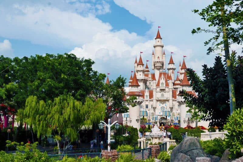 Castle Universal Studios Singapore