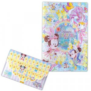 Clear File and Ticket Holder Tokyo DisneySea Easter Merchandise 2019