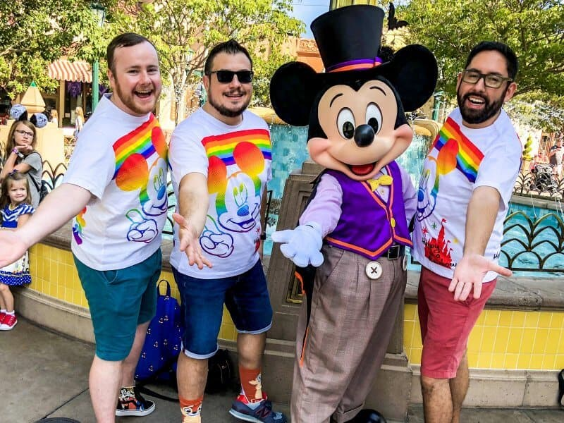 John Himpe Bryson & Chris at Disney California Adventure