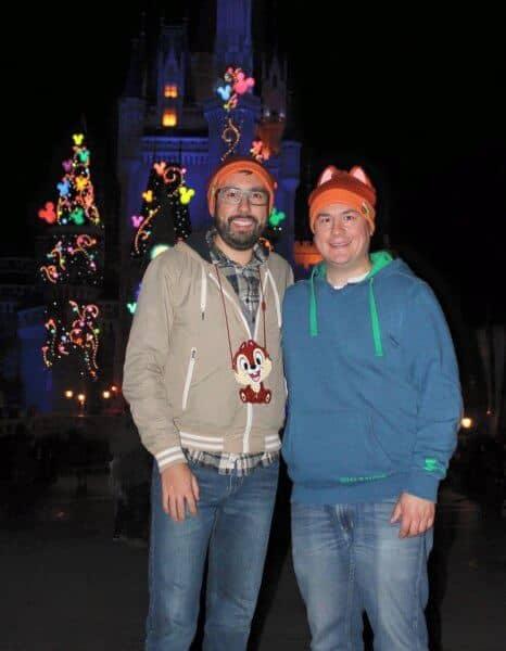 John Himpe & Chris Nilghe at Tokyo Disneyland