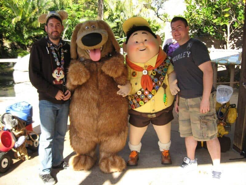John Himpe & Chris Nilghe at Walt Disney World