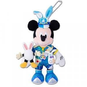 Mickey Plush Badge Easter Merchandise Tokyo Disneyland 2019