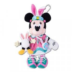 Minnie Plush Badge Easter Merchandise Tokyo Disneyland 2019