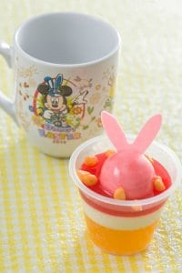 Orange Jelly and Vanilla Mousse Easter Menu Tokyo Disneyland 2019