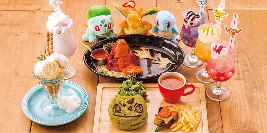 Pokémon Cafe in Tokyo – First Anniversary Menu