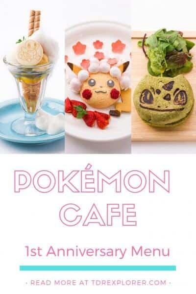 Pokémon Cafe Anniversary