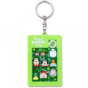 Puzzle Keychain Easter Egg Merchandise Tokyo Disney Resort
