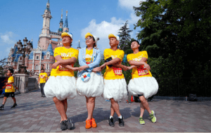 Runners Shanghai Disneyland Spring 2019 Inspiration Run
