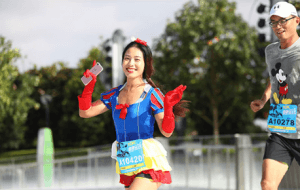 Runner Shanghai Disneyland Spring 2019 Inspiration Run