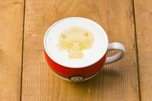 Sakura Afro's Pikachu Latte Pokémon Cafe Anniversary Menu