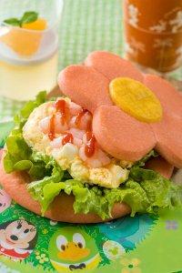 Shrimp and Egg Sandwich Easter Menu Tokyo Disneyland 2019