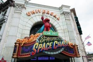 Spaghetti Space Chase Universal Studios Singapore
