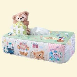 Tissue Box Cover Duffy's Hide and Seek Tokyo Disney Resort 2019