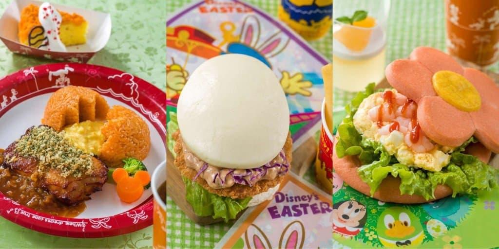 Tokyo Disneyland Easter Food & Snacks Menu 2019