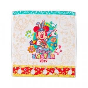 Wash Towel Easter Merchandise Tokyo Disneyland 2019