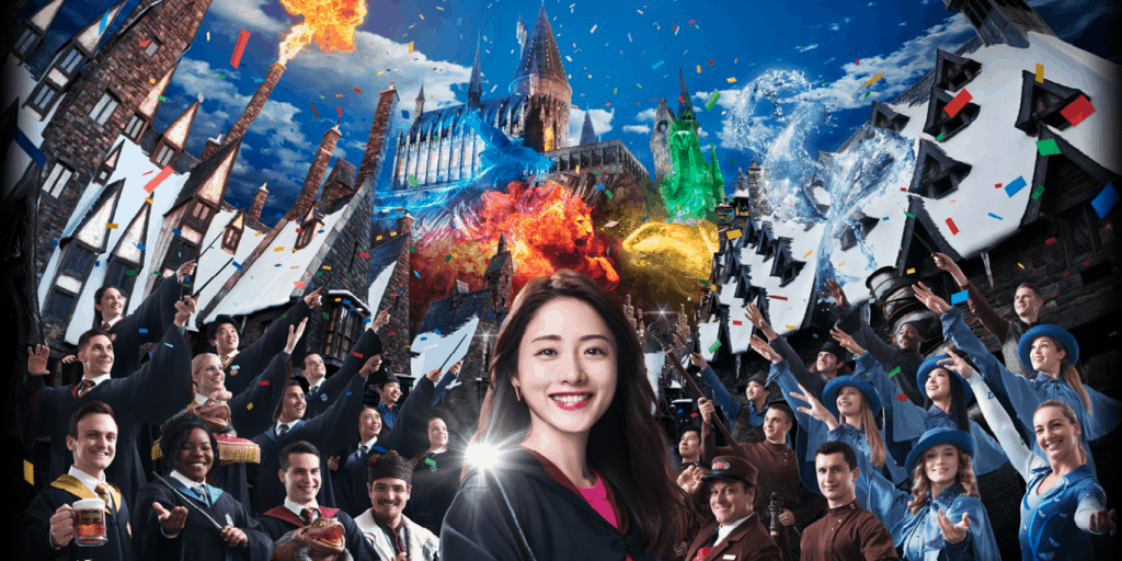 Wizarding World of Harry Potter Celebrates Fifth Anniversary at Universal Studios Japan
