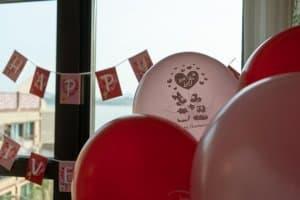 Anniversary Balloons Hong Kong Disneyland Hotel Room Overlays