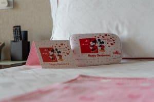 Anniversary Card Hong Kong Disneyland Hotel Room Overlays