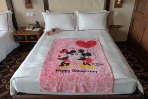 Anniversary Towel Hong Kong Disneyland Hotel Room Overlays