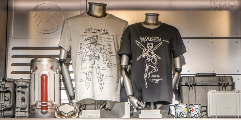 Ant-Man and the Wasp: Nano Battle! Exclusive Merchandise at Hong Kong Disneyland