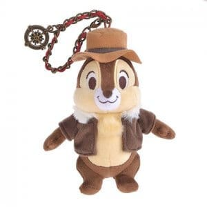 Chip Keychain Chip and Dale Disney Store Japan 2019