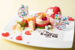Dreamers' Lounge Dessert Tokyo Disney Resort Easter Hotels Menu 2019