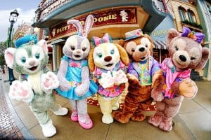 Duffy and Friends Hong Kong Disneyland Carnivale of Stars 2019