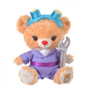 Gadget Unibearsity Plush Chip and Dale Disney Store Japan 2019