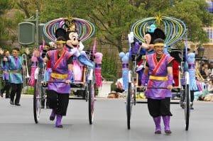 Greeting Disney's Tanabata 2019