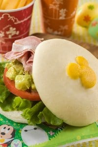 Ham and Avocado Sandwich Set Tokyo DisneySea Easter Menu 2019