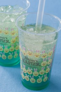 Lemon and Ginger Sparkling Tapioca Drink Tokyo DisneySea Easter Menu 2019