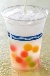Lychee Liqueur and Grapefruit Sparkling Cocktail Tokyo DisneySea Easter Menu 2019