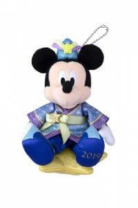 Mickey Plush Badge Disney's Tanabata 2019