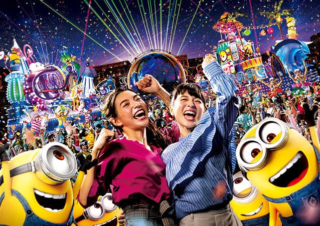 Minion Night Party Universal Studios Japan