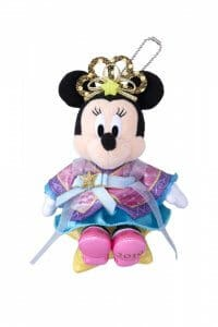Minnie Plush Badge Disney's Tanabata 2019