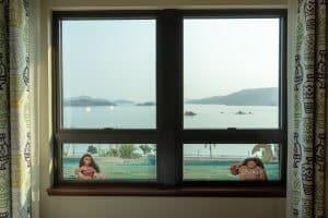 Moana Window Decorations Hong Kong Disneyland Hotel Room Overlays