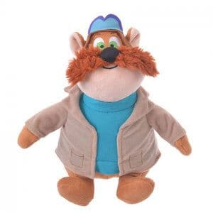 Monterey Jack Plush Chip and Dale Disney Store Japan 2019