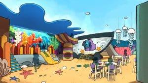 Nemo Recreation Reef Toy Story & Pixar Pals Summer Splash