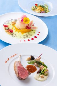 Oceano Lunch Course Tokyo Disney Resort Easter Hotels Menu 2019