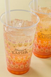 Orange and Ginger Sparkling Tapioca Drink Tokyo DisneySea Easter Menu 2019
