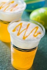 Passionfruit Beer Cocktail Tokyo DisneySea Easter Menu 2019