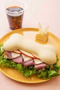 Pastrami and Camembert Sandwich Tokyo Disney Resort Easter Hotels Menu 2019