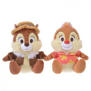 Plush Set Chip and Dale Disney Store Japan 2019