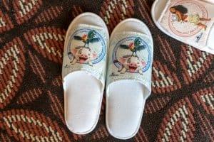 Pua Slippers Hong Kong Disneyland Hotel Room Overlays