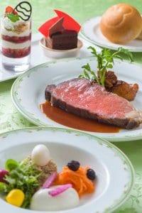 Roast Beef Special Set Tokyo DisneySea Easter Menu 2019