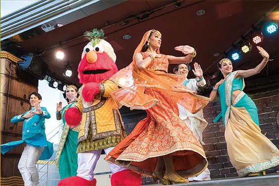 Sesame Street Bollywood Universal Studios Japan