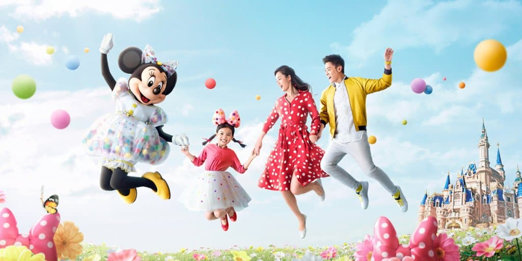 Springtime at Shanghai Disneyland 2019