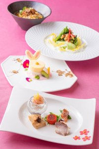 Silk Road Garden Lunch Course Tokyo Disney Resort Easter Hotels Menu 2019