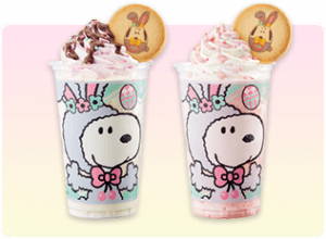 Snoopy Easter Drinks Universal Studios Japan Easter 2019